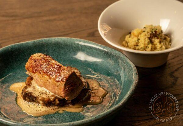 Fernando's: Lamsprocureur | Couscous | Aubergine | Gepofte knoflookjus