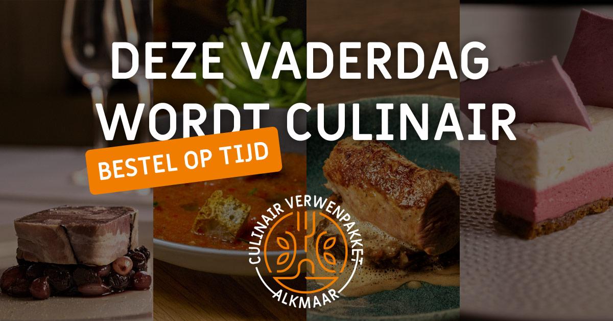 Culinair Verwenpakket Alkmaar: Vaderdag