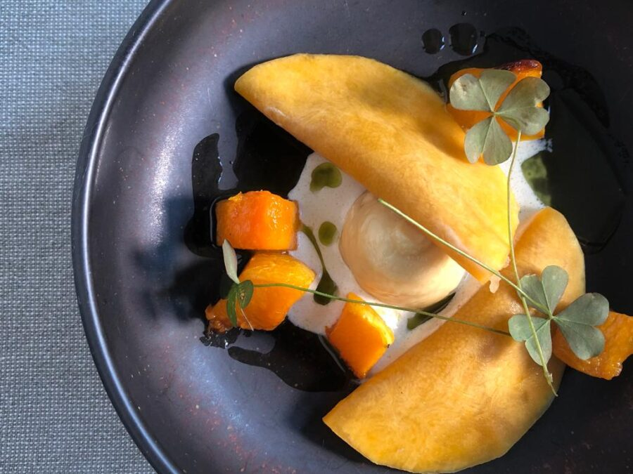Neder: butternut | gefermenteerde peer | 16-jaar oude Beemster | eikel | douglasspar